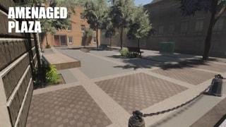 Amenaged Plaza