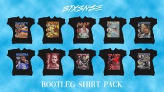Bootleg Shirt Pack